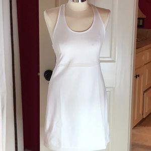 Gapfit white tank dress